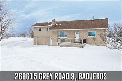 269615 Grey Road 9 Badjeros Real Estate Listing