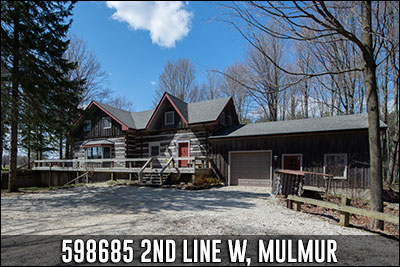 598685 2nd Line West Mulmur Real Estate Listing