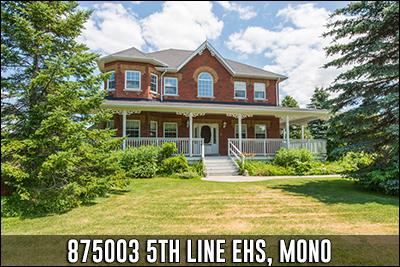 875003 5th Line EHS Mono Real Estate Listing