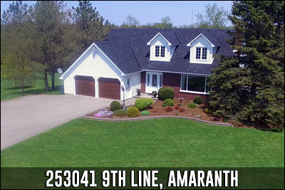 253041 9th Line Amaranth Real Estate Listing