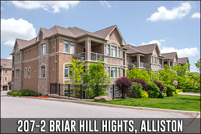 207-2 Briar Hill Heights Alliston Real Estate Listing