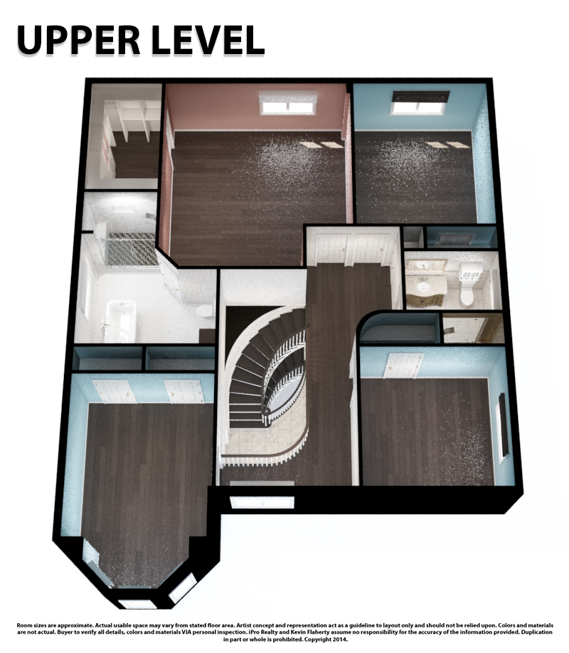 Upper 3D Still - Kevin Flaherty Real Estate Listing