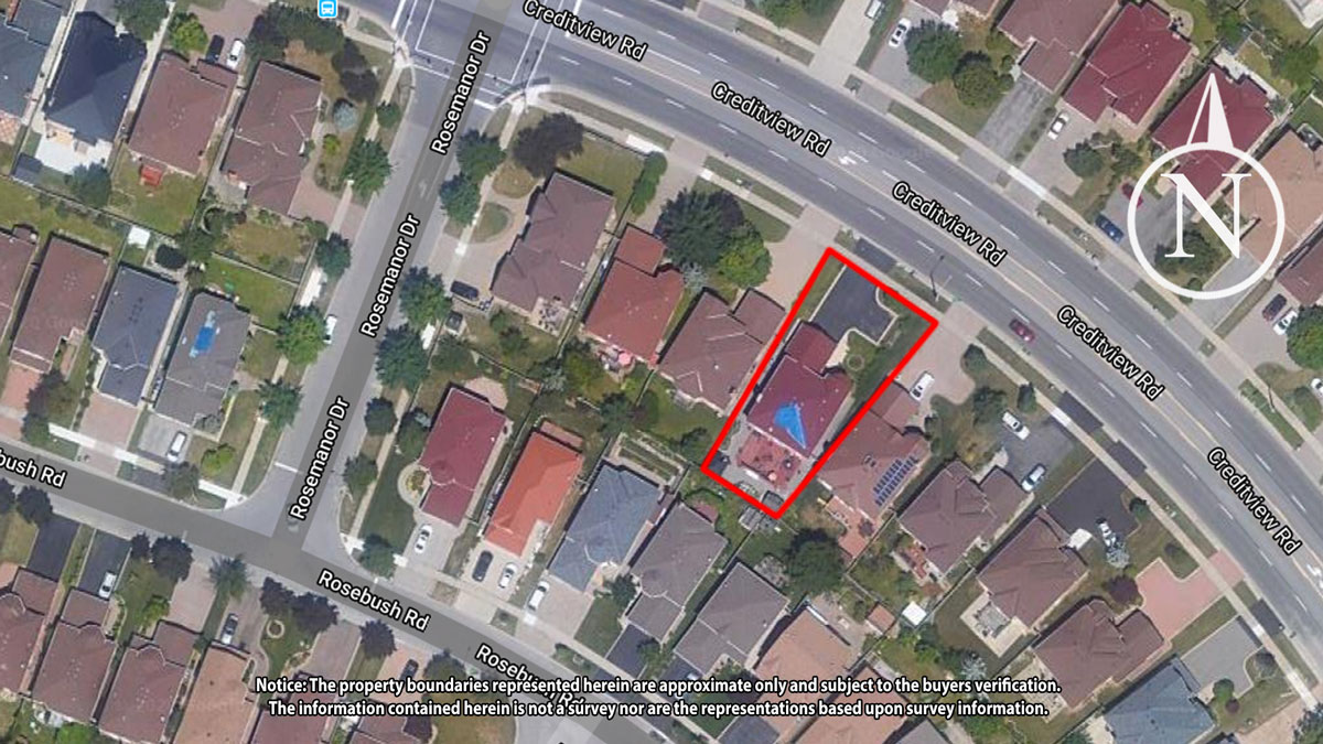 Aerial Map - Kevin Flaherty Real Estate Listing