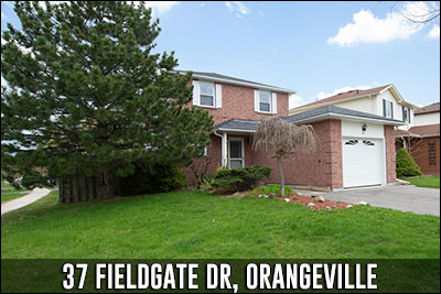 37 Fieldgate Dr Orangeville Real Estate Listing
