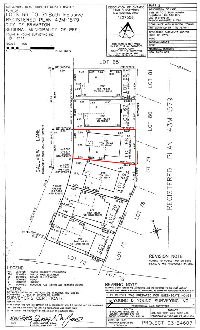 Land Survey 59 Gall View Official