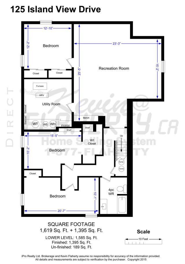 Waterfront Bungalow, Flesherton, Real Estate, MLS Listing