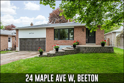 24 Maple Ave W Beeton Real Estate Listing