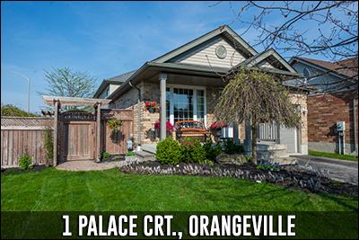 1 Palace Court Orangeville Real Estate Listing