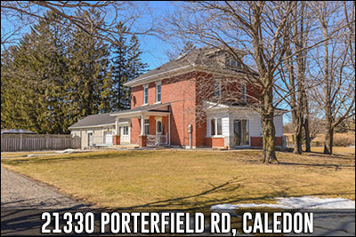 21330 Porterfield Rd Caledon Real Estate Listing