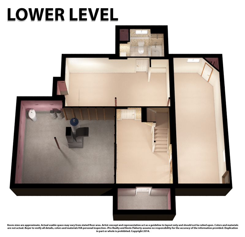 Lower 3D Still - Kevin Flaherty Real Estate Listing