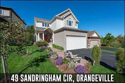 49 Sandringham Cir Orangeville Real Estate Listing
