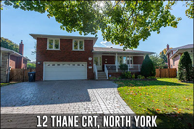 12 Thane Crt Toronto Real Estate Listing