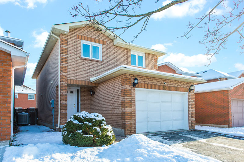 **SOLD** 50 Toba Court Brampton MLS Real Estate Listing